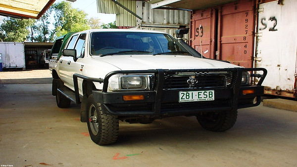Sad to see a real 4x4 being traded by manager on a Holden Rodeo so called 4x4 d/cab IFS.