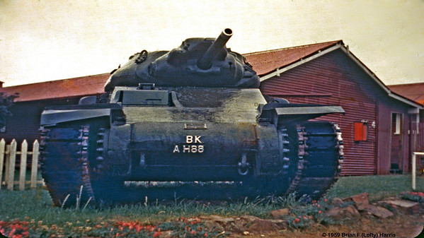 From memory this Australian made Crusader tank was powered by two standard flat head V 8 engines. I think there was an on-going problem to get them to share the load. Never went into mass production. This sample at Armoured School (where I qualified for tank gunnery) in Puckapunyal, Victoria.