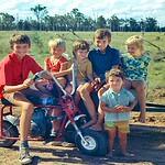 Jeff Ison, Craig, Sandra Ison, Noel Ison, Keith, Gillian Ison. Isons of Yeronga at Goombi. Wolf Holden