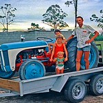 So proud ! Just bought it. Few days later we found all the bogged up holes in it. Leaked water every where. Had to sell it real quick. Had tower boats out of salt water. Corrosion. 1979