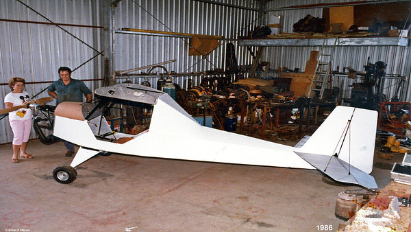 BackUpCustomer and friend of ours at Capella is well advanced building his own plane. He went on to finish this one. Did lots of trips in it and then built another one, a different model. He is well qualified and a true tradesman.