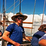Craig Harris on his Young Endeavour sailing adventure.